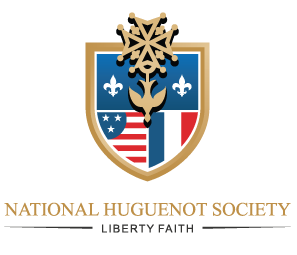 Logo of The National Huguenot Society